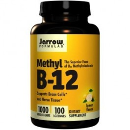 Methyl B-12, okus limone, 1000 mcg, 100 tablet (Jarrow Formulas)