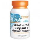 BETAINE HCL, 120 kapsul